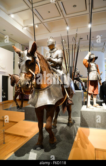 Royal Armouries Museum in Leeds - Stock Image