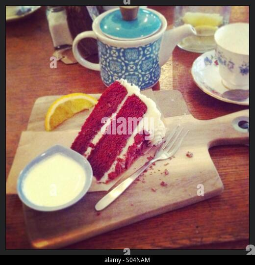 What Tea Goes Well With Red Velvet Cake
