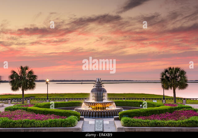 Charleston, South Carolina, USA at Waterfront Park. - Stock Image