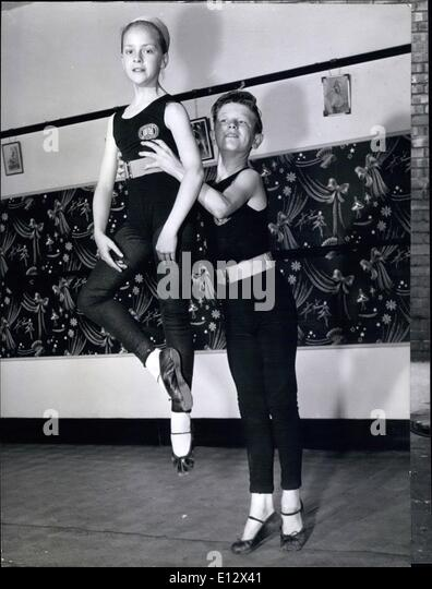 Feb. 26, 2012 - John's other hobby besides ballet is boxing and ge and his friend Trevor riscoe (right) have - Stock Image