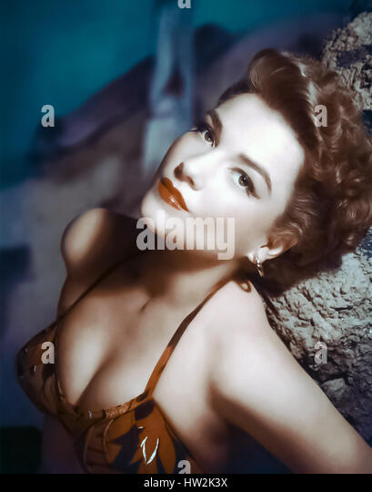 ANNE BAXTER (1923-1985) US film and stage actress about 1950 - Stock-Bilder