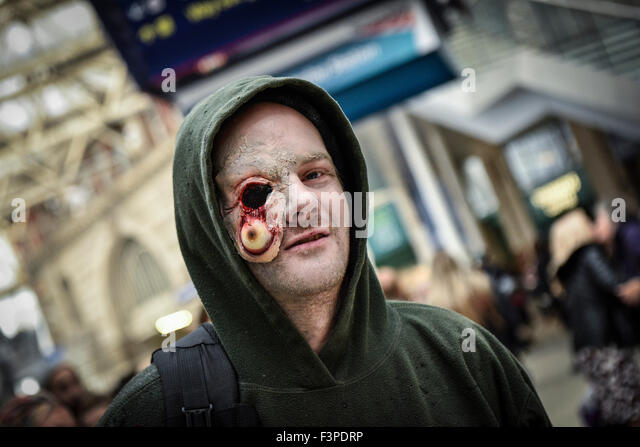 The London Zombie Walk. - Stock Image