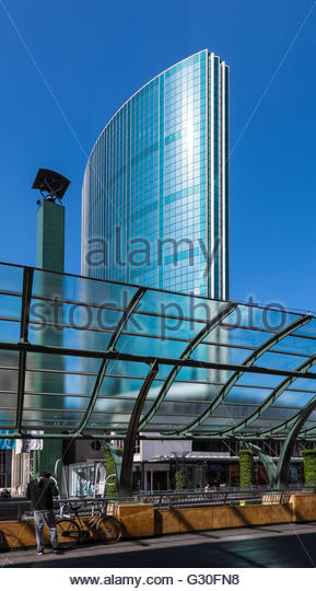 World trade center Rotterdam, Beurs, Rotterdam, 2016 - Stock Image