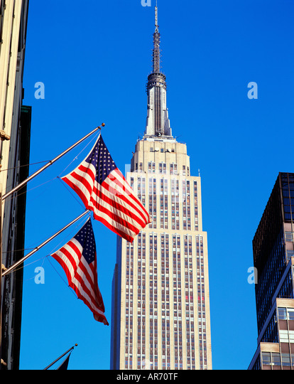 USA   NEW YORK   EMPIRE STATE BUILDING - Stock Image