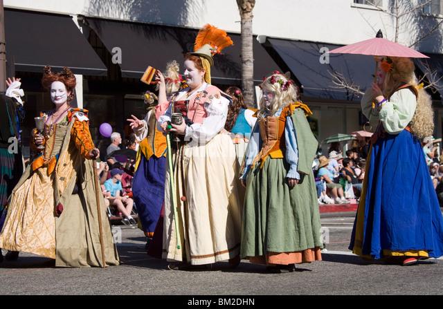 Doo Dah Parade, Pasadena, Los Angeles, California, USA - Stock Image