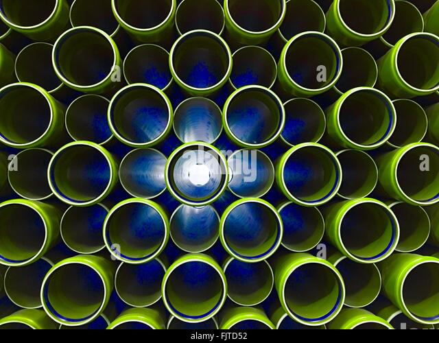 Full Frame Shot Of Pipes - Stock Image