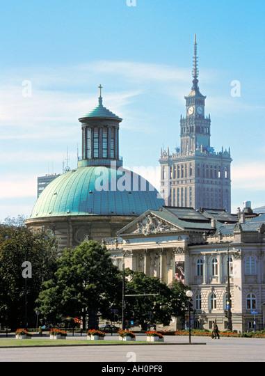 Gallery of Contemporary Art Zacheta Warsaw Poland - Stock-Bilder