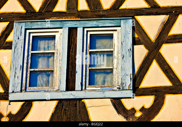 Timber framed structures stock photos timber framed for Self garage strasbourg