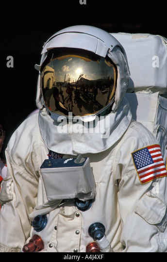 Kennedy Space Center Astronaut - Stock Image