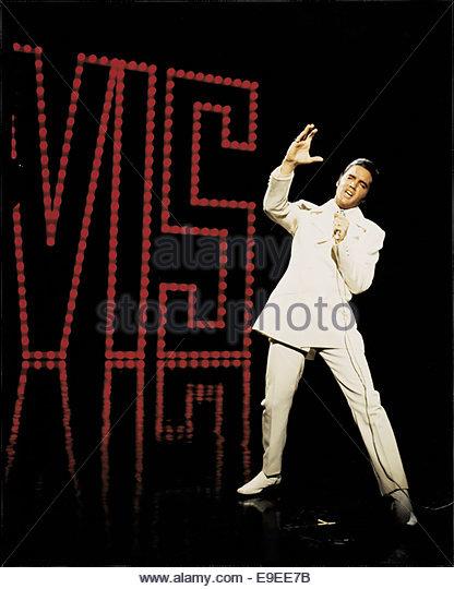 ELVIS PRESLEY 1968 COMEBACK SPECIAL - Stock Image