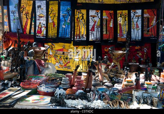African souvenirs stock photos african souvenirs stock for Cd market galeria jardin