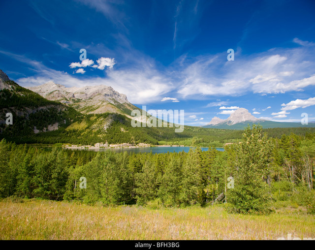 Crowsnest Pass, Alberta, Canada - Stock Image