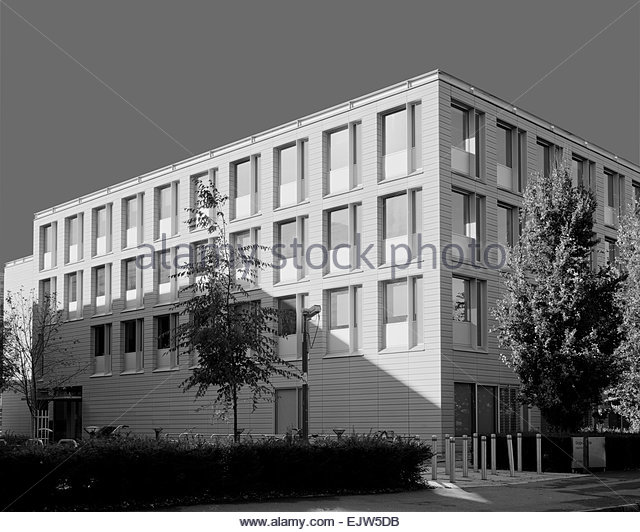 Faculty of English on the Sidgwick Site of Cambridge University - Stock Image