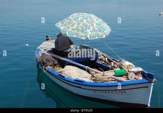 Fishing umbrella stock photos fishing umbrella stock for Boat umbrellas fishing