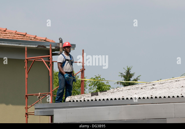 Corrugated Asbestos Roof Stock Photos Amp Corrugated
