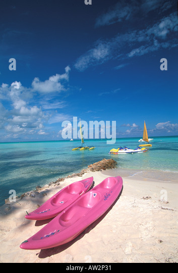 Caribbean West Indies beach - Stock Image