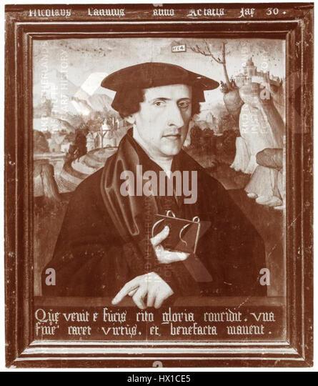 Cornelis Anthonisz Nicolaus Cannius (1534) - Stock Image