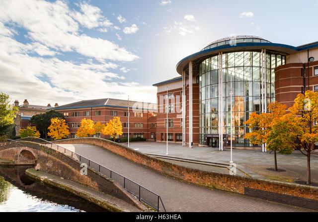 Nottingham Magistrates court. In Nottingham, England. - Stock Image