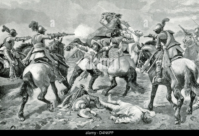 Gustavus Adolphus of Sweden (1594-1632),  the 'Lion of the North,' the champion of German Protestantism, - Stock Image