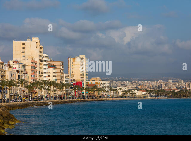 Cityscape, South Governorate, Tyre, Lebanon - Stock-Bilder