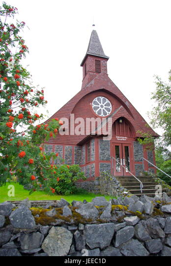 St. Peter's by the Sea Episcopal Church - Stock Image