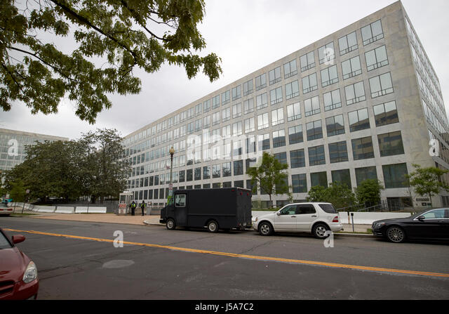 wilbur wright federal building us department of transportation and federal aviation administration Washington DC - Stock Image