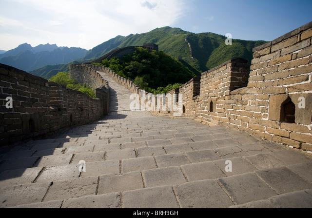 The Great Wall of China, Mutianyu - Stock Image