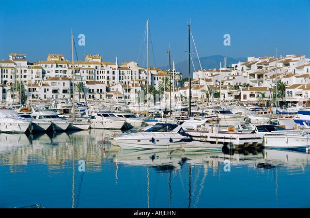 Marina Puerto Banus Near Marbella Stock Photos Marina