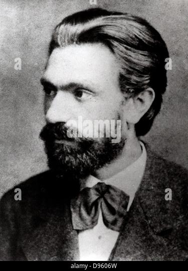 (Ferdinand) August Bebel (1840-1913) German Socialist. - Stock Image