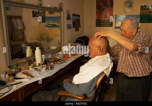 Barber Barbers Shop Stock Photos & Traditional Barber Barbers ...