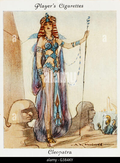 CLEOPATRA VII          Date: 69 - 30 BC - Stock Image