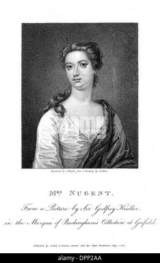 ANNA NUGENT - Stock Image