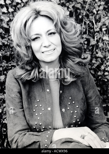 DOTTIE WEST US singer - Stock Image