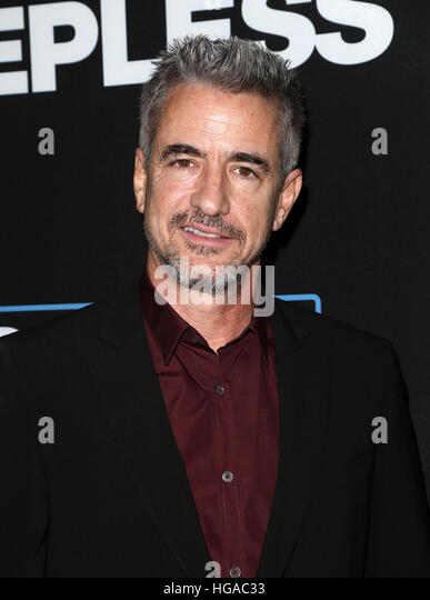 Los Angeles, CA - JANUARY 05: Dermot Mulroney, At Premiere Of Open Road Films' 'Sleepless', At Regal - Stock-Bilder
