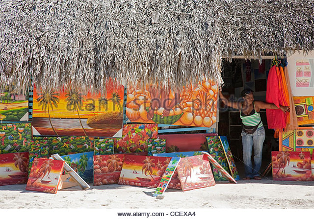 saona,hispaniola,dominican republic,caribbean - Stock Image