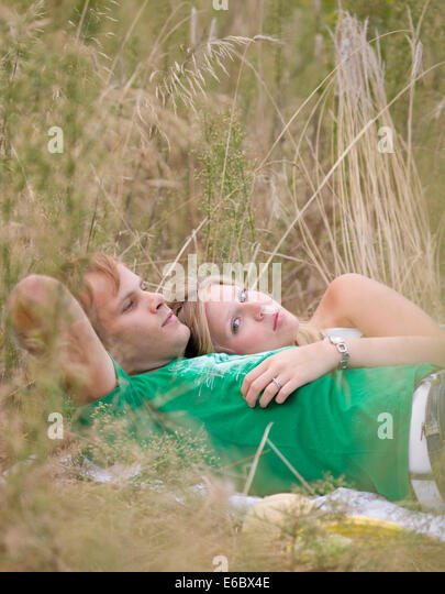 togetherness,love couple,excursion - Stock Image