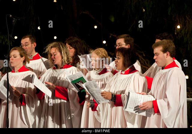 Singing Carols Stock Photos Amp Singing Carols Stock Images