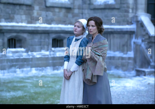 STONEHEARST ASYLUM 2014 Icon productions film with Kate Beckinsale at right and Sophie Kennedy - Stock-Bilder