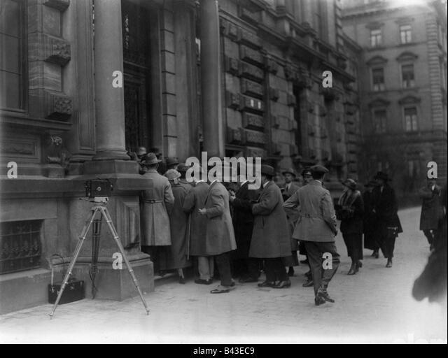 The Beer Hall Putsch of 1923
