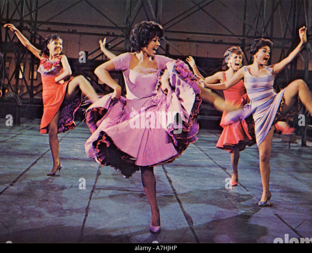WEST SIDE STORY  1961 UA film with Rita Moreno - Stock Image