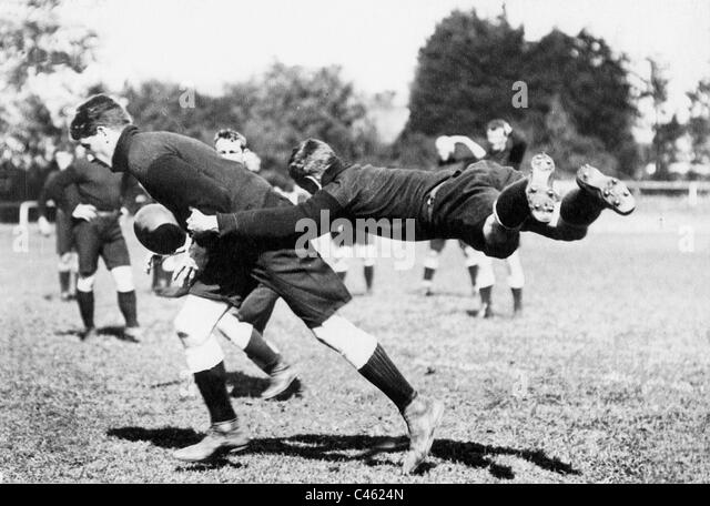 Rugby in England, 1908 - Stock Image