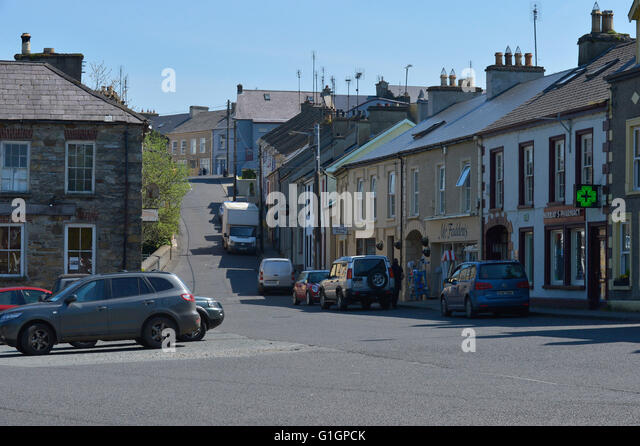 Main Street, Ramelton, County Donegal, Ireland. - Stock Image