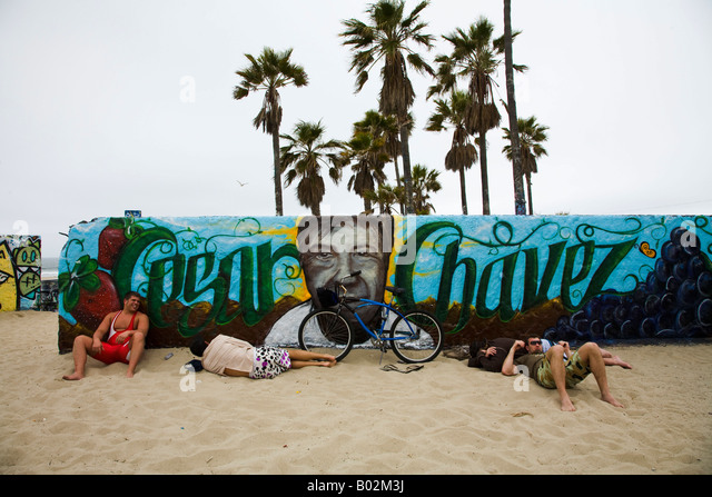 Chavez mural stock photos chavez mural stock images alamy for Cesar chavez mural