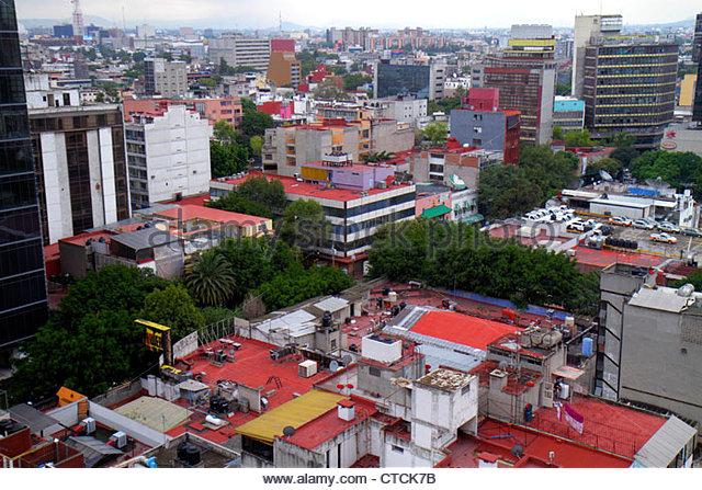 Mexico Mexico City DF D.F. Ciudad de México Federal District Distrito Federal Zona Rosa Doctores - Stock Image