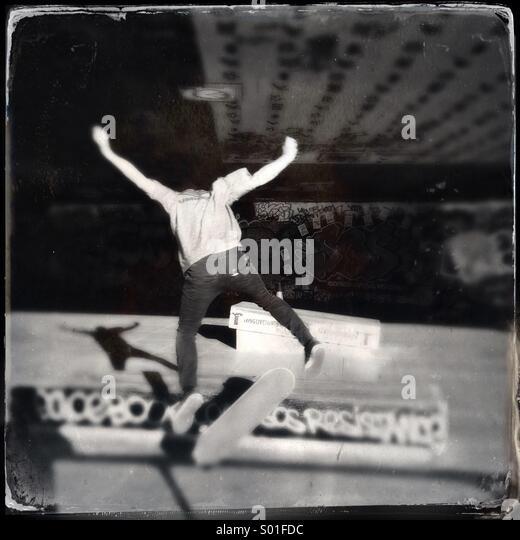 Skateboarder - Stock Image