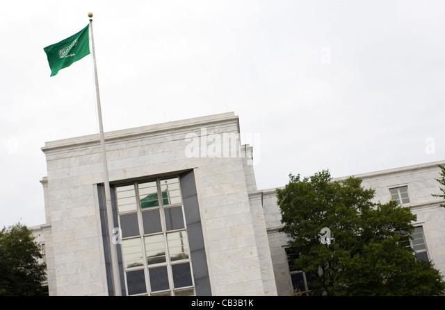 The Embassy of the Kingdom of Saudi Arabia in Washington, DC.  - Stock Image
