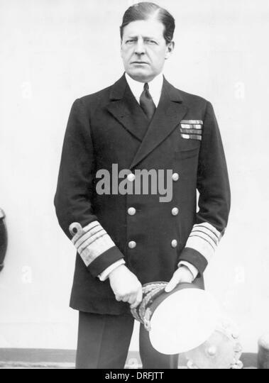 Admiral Sir David Beatty - Stock Image