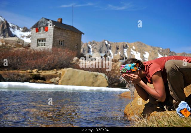 Trekking Argentina - Stock Image