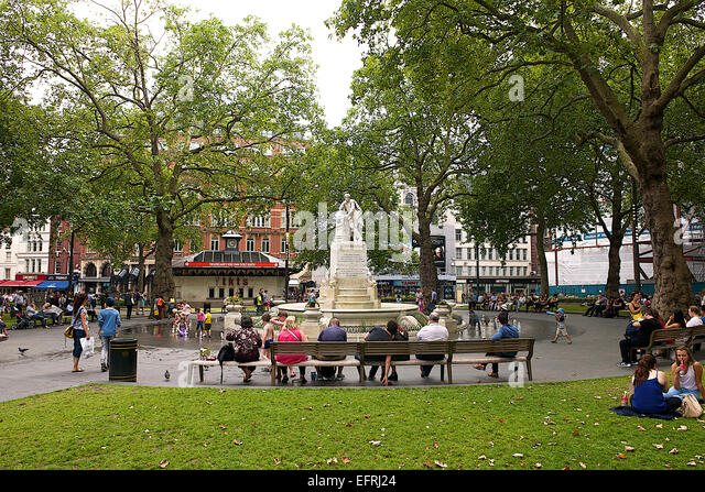 Leicester Square, London, UK - Stock Image