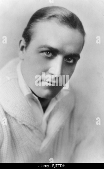 James Hall (1900-1940), American actor, 20th century. - Stock Image